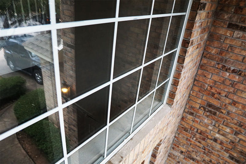 Window Washing Austin TX showcasing an image of windows after they are thoroughly clean